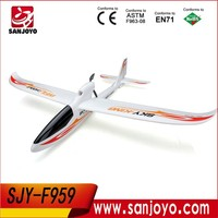 WLtoys F959 Sky King 2.4G 3CH Cool Remote Control Plane for Sale With Led /EPO Plane SJY-WL-F959