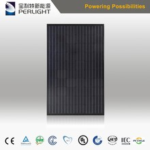 High Efficiency Best Black Solar Panel 270W 280w 290w 300w Monocystalline Silicon Manufacturer Directly Supply in China