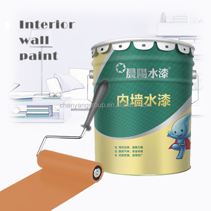 TUV certification high-quality odourless glitter interior wall finish paint