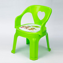 household colorful plastic child whistle chair for kid chair