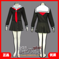 New arrive sexy anime cosplay hell girl Enna Ai long sleeve girl uniforms for school girl with great price