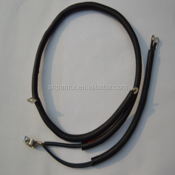 High Voltage Chrome Auto Ignition Cable Wire Set