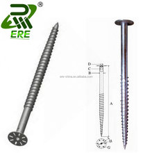 Screw Ground Pole Anchor ERE Billboard Masts Ground Screw