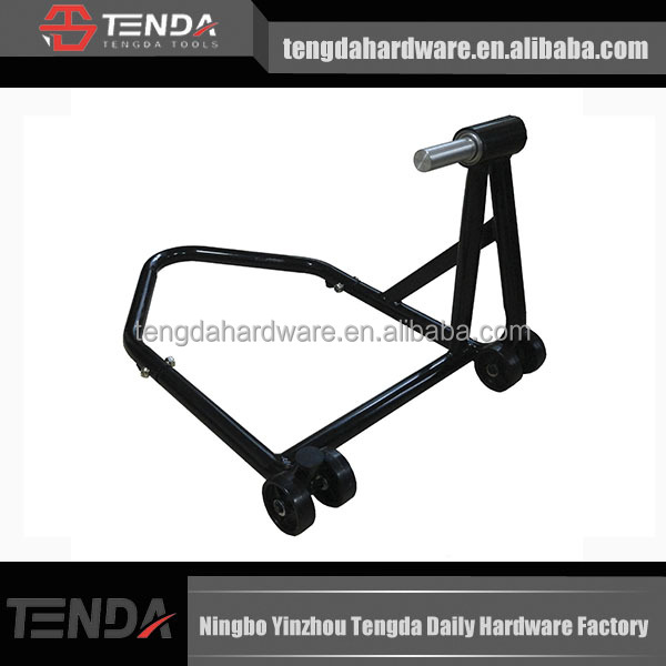 2014 Hot Sale.Single Sided Swing Arm Motorcycle Stand,motorcycle paddock stand