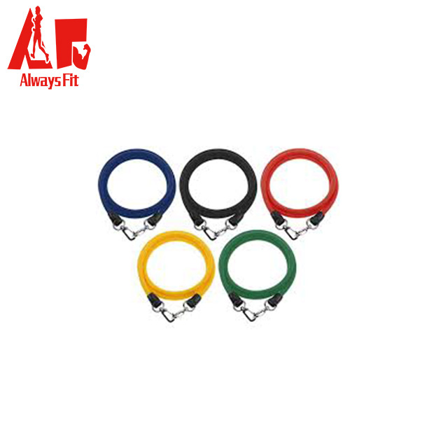 Wholesale Fitness Natural Latex Exercise Resistance Bands Tube