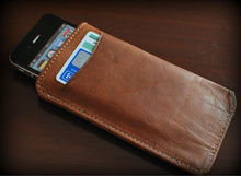 Real Leather card holder and mobile cover / cases