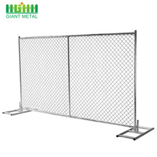 Cheap Hot Dipped Galvanized Temporary Construction Chain Link Fence Panels