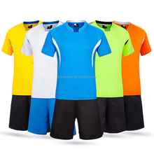Wholesale custom printing design mens soccer jersey fashion footbal jersey
