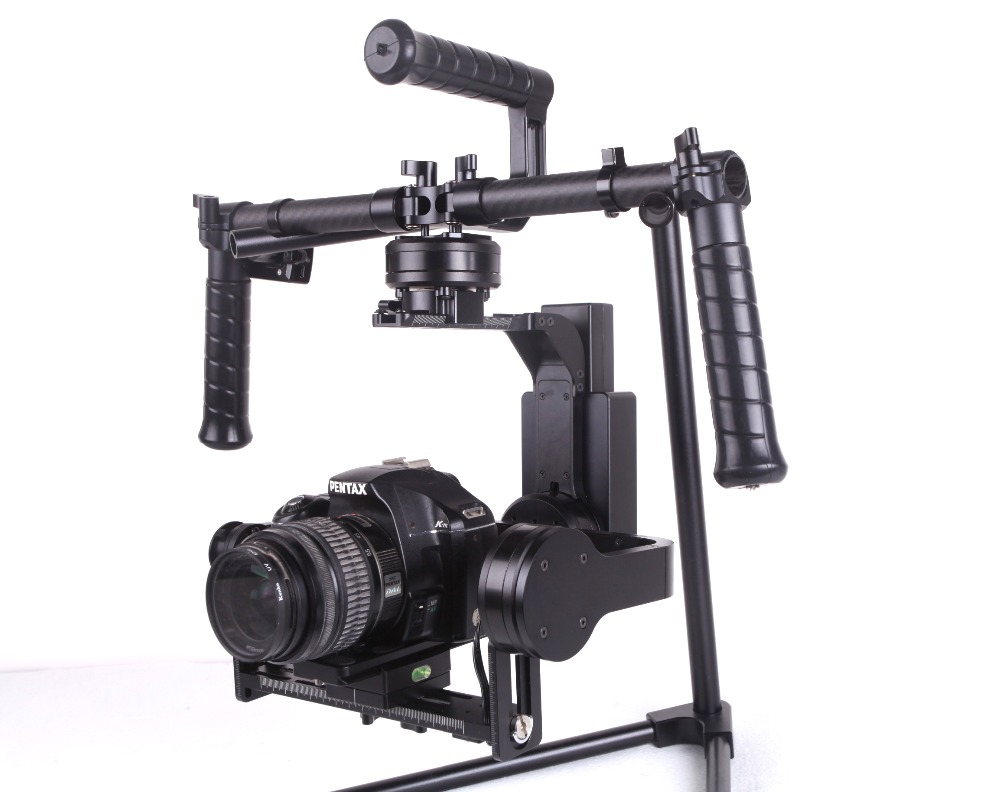 Hot Sell YELANGU G2 Professional folding 3 Axis Gimbal Stabilizer for Kinds Of DSLR Camera