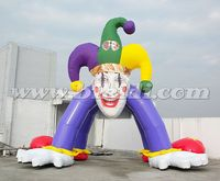 Giant advertising clown Inflatable Entrance Arch for Sale K4038
