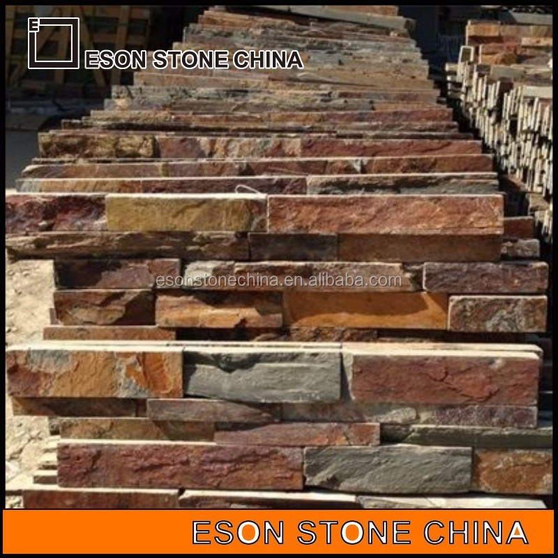 eson stone 71 slate cladding cultured stone for kitchen wall tiles