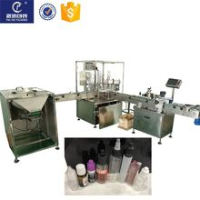 Servo motor automatic 10ml bottle eye drop filling machine ,filling and capping machine