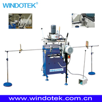 window door processing machine /Corner-Cleaning equipment for PVC/UPVC /vinyl Doors & Windows SZS-100