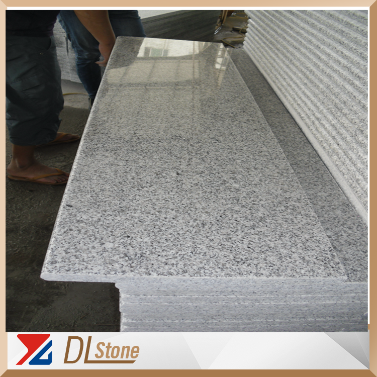 HQ Polished Light Grey G603 Granite Steps Stone