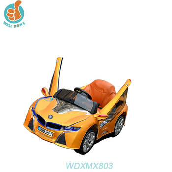 WDXMX803 2018 Wholesale Kids Electric Ride On Car With Swing Function/Myanmar Car