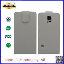 For Samsung S5 Hot Sales Top Flip Leather Case Made In China- Laudtec