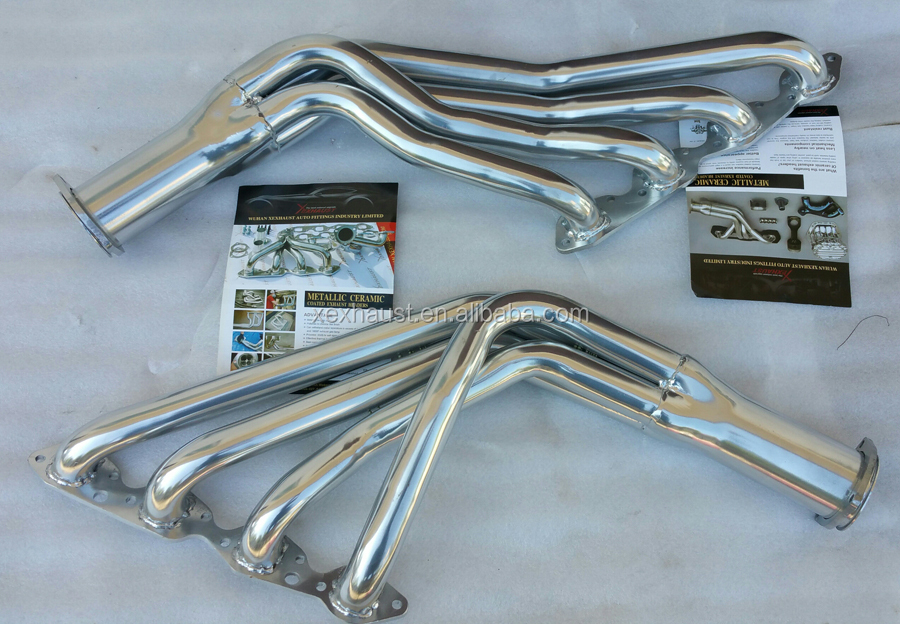 exhaust ceramic coating headers manifold header pipe Chevy BBC 396 454 1965-1975 Chevelle Camaro Bel Air
