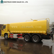 Sinotruk howo Water Bowser,stainless steel water bowser truck,howo 6x4 Water Truck for Spraying Water