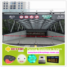 car park parking guidance system to find vacant parking spaces/smart car parking system