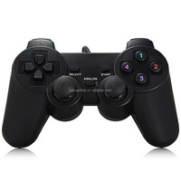 Wholesale 2.4g wireless double shock gamepad for pc usb joystick drivers welcome, joystick game controller