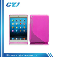 2014 China High quality cheap transparent silicone case for 7 inch tablet pc