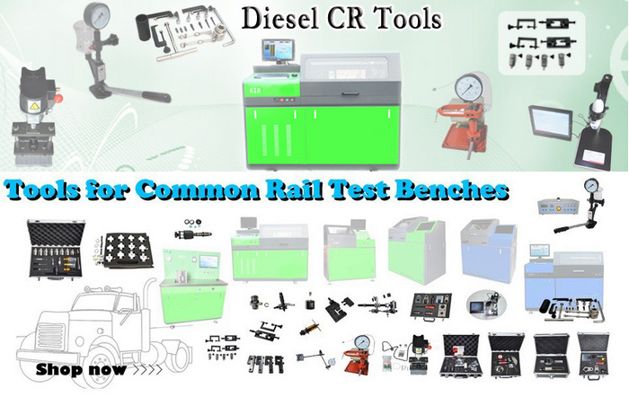 Computer bench test auto electrical BC-CR825 common rail injector piezo test bench