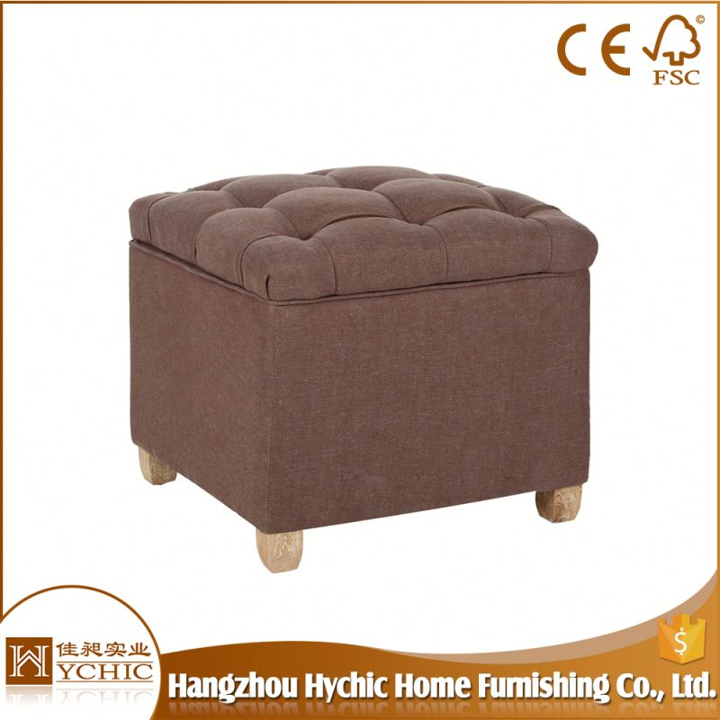 Office Stool For Hotel Coffee Table With Brown Leather Ottoman