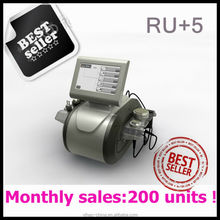 new products 2014 beauty product Ru+5 ultrasonic facial massage/ body slimming