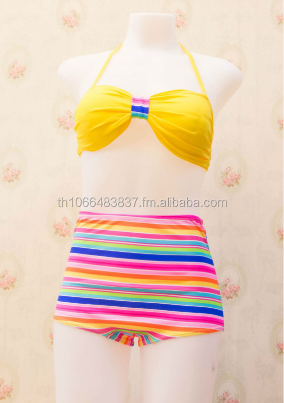 Wholesale high waisted bikini