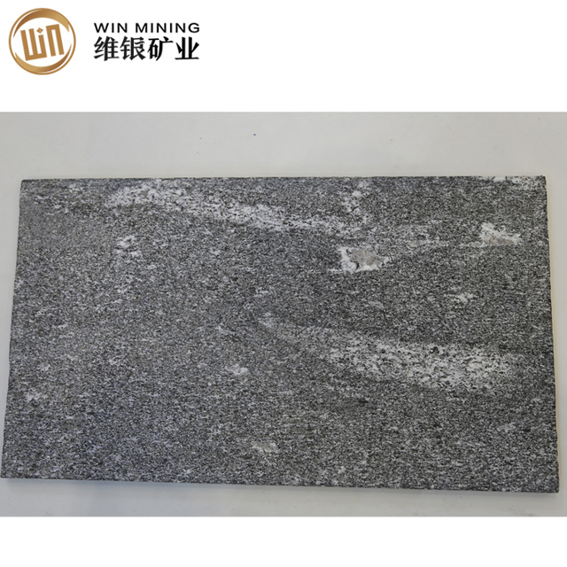 Flamed surface 60*30cm non-slip granite tile Africa Deepgray Grain
