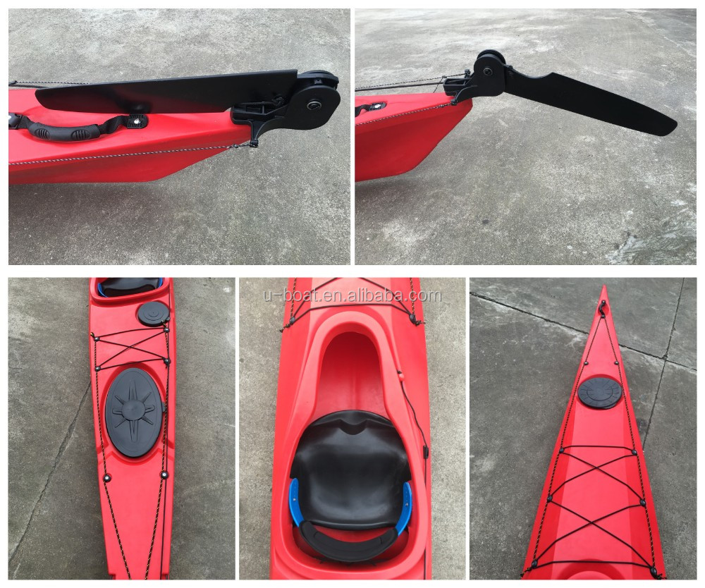 U-Boat New Designed Ocean Sea Kayak with Rudder and Pedals