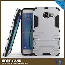 Hot Selling Rugged Iron- Bear Hybrid Stand Armor Back Cover Case For Samsung Galaxy A310