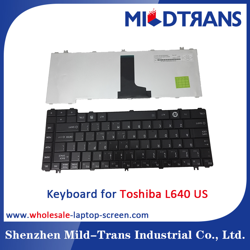 Notebook Internal Keyboard for Toshiba L640 US language layout