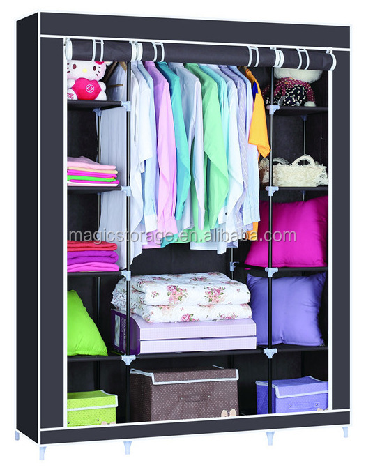 Best Price Foldable Non-Woven Fabric Wardrobe