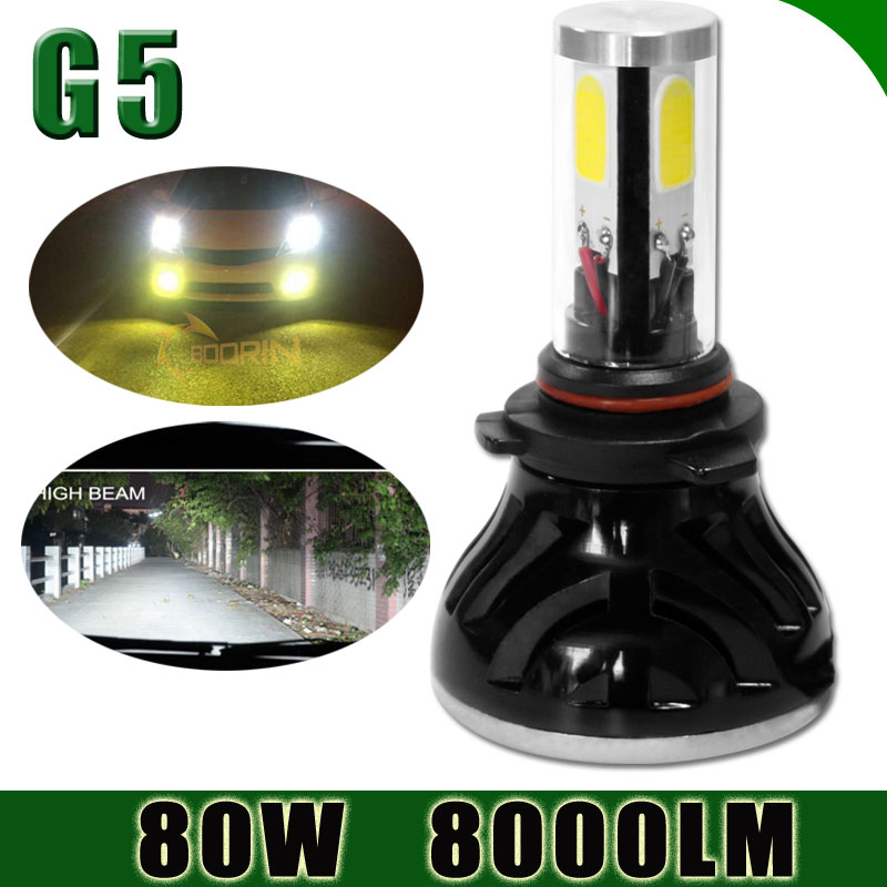 Most powerful Auto headlight lights for car G5 G6 LED h1 h7 h13 9005 9006 D2S D1S H15 motorcyle h11 led headlight car led h4