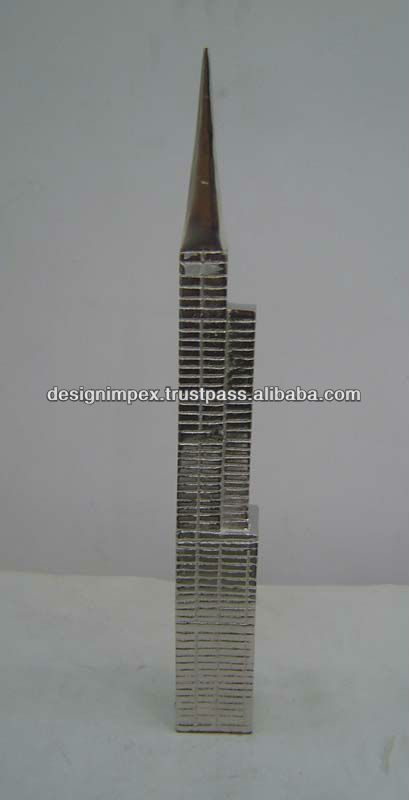 Cast Aluminum Decorative Sears Tower (Chicago)/ Home Decor/ Table top for Home/ Hotel/ Office / promotional & Corporate Gifts