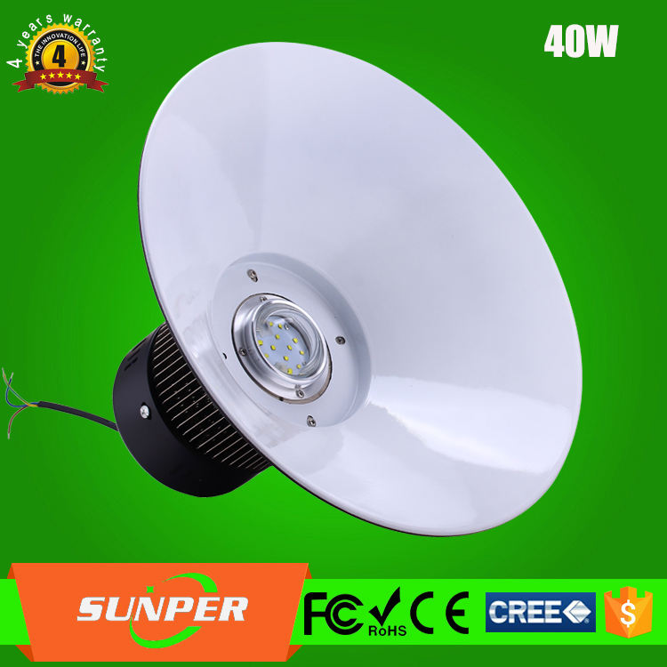 commercial high bay 40w led lighting pendents industrial lamp