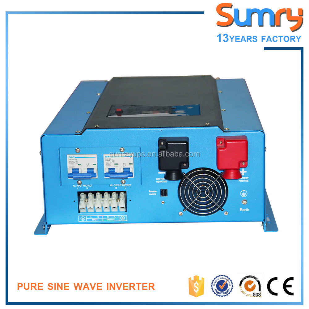 Pure sine wave inverter 8000w split phase 120/240v output