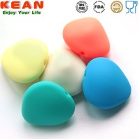 Soft BPA Free Silicone Plastic Beads Wholesale