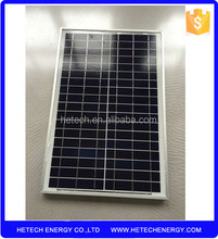 Import from China pv module supplier 20watts photovoltaic solar panel price india