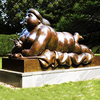 High Quality Home Decor Fat Nude Woman Art Bronze Sculpture VFS-006