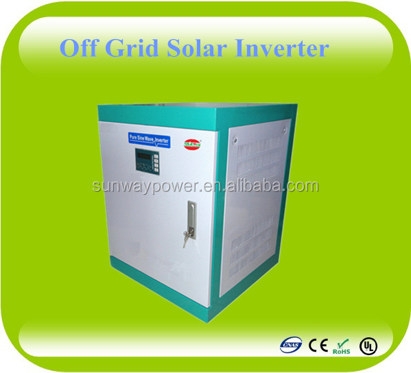 Sunway Power Supply 3 Phase Solar Panel Inverter with high Power