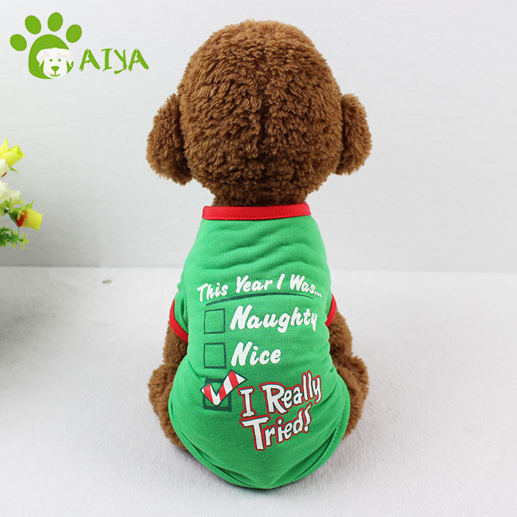 Free sample multi sizes molds dog clothing pet clothes for print
