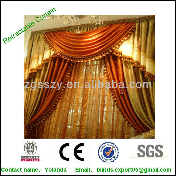 2013 Fasion Curtain Design /Latest Designs Curtain
