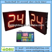 New digit design wireless 24 seconds scoreboard basketball