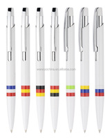 multi color ink pens,latest technology plastic ball pen