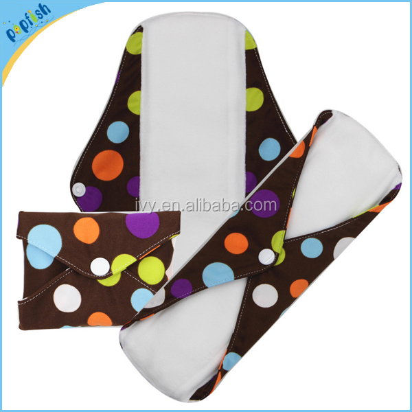 50pcs Low moq best ladies day menstrual pads soft microfleece cloth women whisper sanitary pads