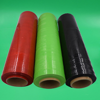 Pe Protective Colored Stretch Plastic Film Roll