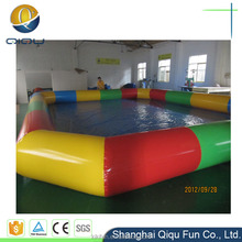 New innovative product inflatable sea swimming pool singapore / inflatable motorized pool toys / inflatable square swimming pool