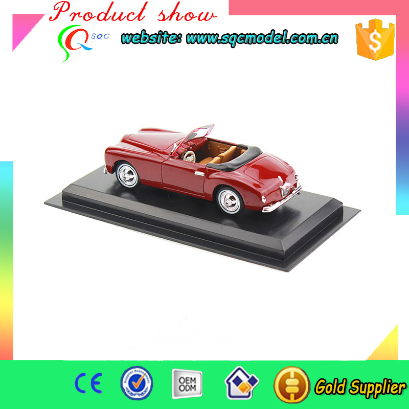 Top Quality die cast fine car model for wholesales